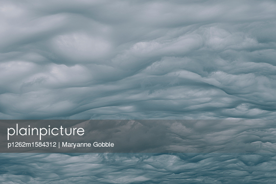 Eerie Dark Clouds - p1262m1584312 by Maryanne Gobble