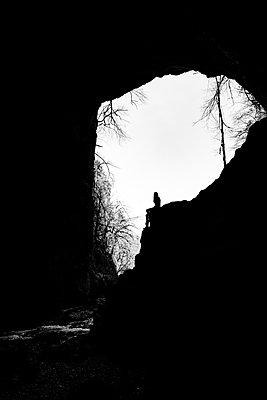 Walking into the Rakov Skocjan cave system in Slovenia - p1455m2081772 by Ingmar Wein