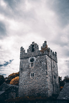 Castle tower, Strangford, Northern Ireland - p1681m2283630 by Juan Alfonso Solis