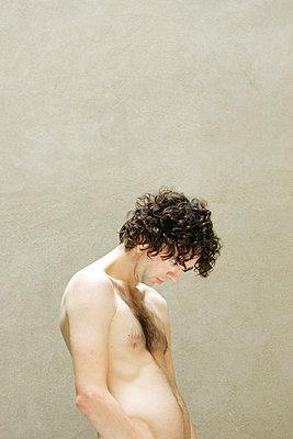Naked man - p4030024 by Helge Sauber