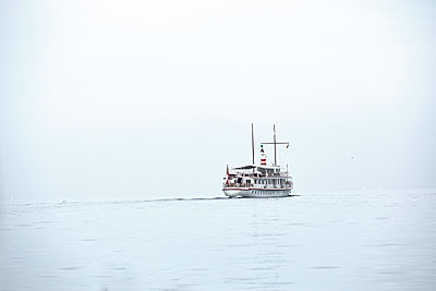 Germany, Lake Constance, Ferry - p1299m2297286 by Boris Schmalenberger