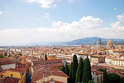 Blick über Florenz - p382m1525177 von Anna Matzen