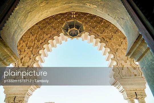 Mausoleum von Mahammed V in Rabat - p1332m1573712 von Tamboly