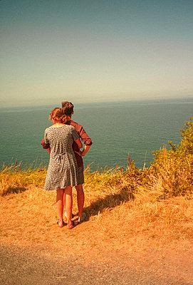 Normandy landscape - p1654m2253723 by Alexis Bastin