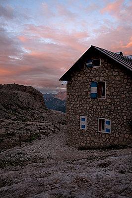 Mountain hut in the Pale di San Martino - p470m2148494 by Ingrid Michel