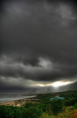 unwetter am strand - p627m670717 by Chris Keller
