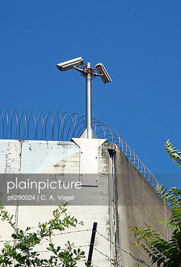 Gefängnismauern Zuchthaus - p6290024 von C. A. Vogel