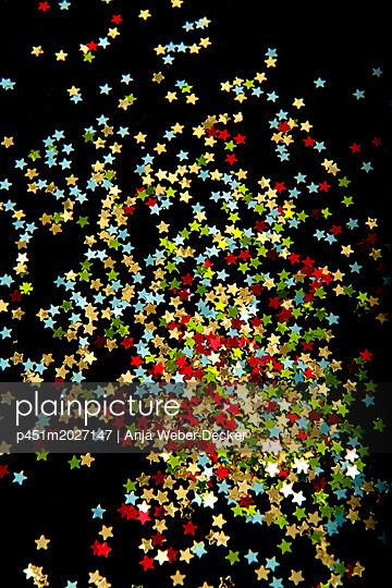 Viele kleine Sterne - p451m2027147 von Anja Weber-Decker