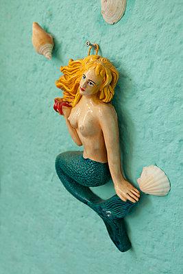 Meerjungfrau - p308m1194986 von Ellen Bornkessel