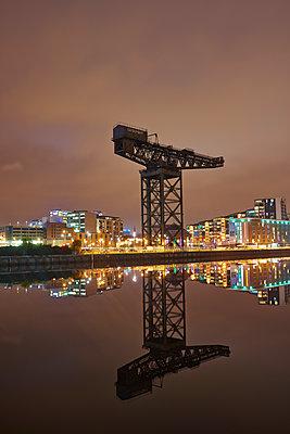 Kran,  Clydeport, Glasgow - p587m1091799 von Spitta + Hellwig