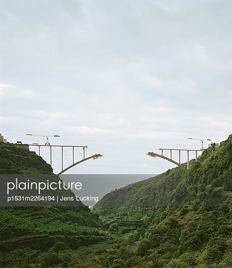 Bridge under construction - p1531m2264194 by Jens Lucking