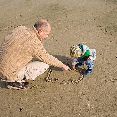 Vater und Kind - p8060065 von Levi + Lo