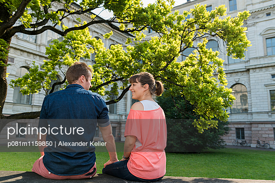 Entspannung zu zweit - p081m1159850 von Alexander Keller