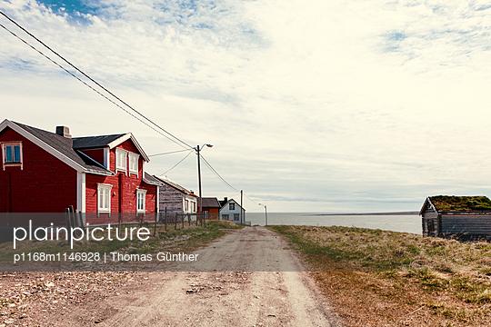 Fischerdorf in der Finnmark - p1168m1146928 von Thomas Günther