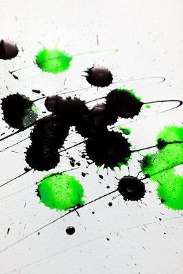 Tintenkleckse  - p450m1537962 von Hanka Steidle