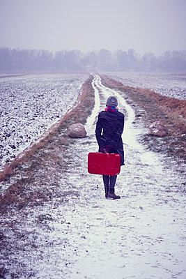 Winterreise - p464m1124499 von Elektrons 08