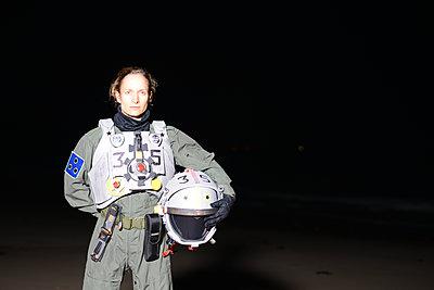 Astronautin - p1631m2208648 von Raphaël Lorand