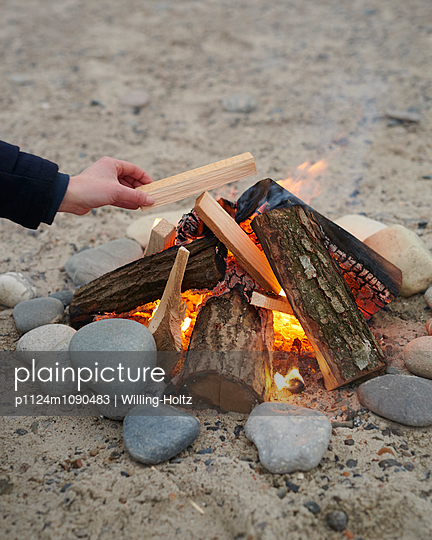 Firepit - p1124m1090483 by Willing-Holtz