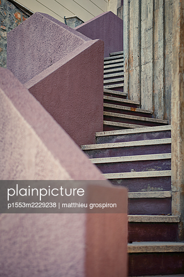 Spanish stairs - p1553m2229238 by matthieu grospiron