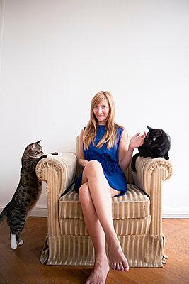 Cat lover - p795m946157 by JanJasperKlein