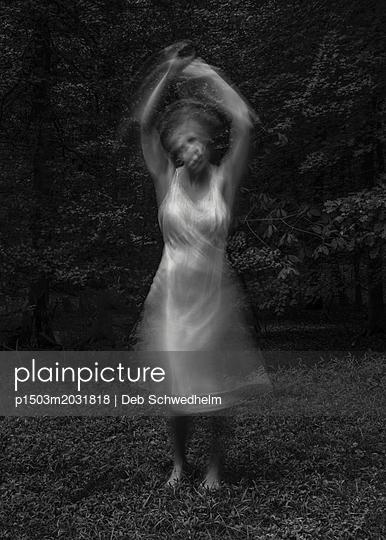 Woman Dancing - p1503m2031818 by Deb Schwedhelm