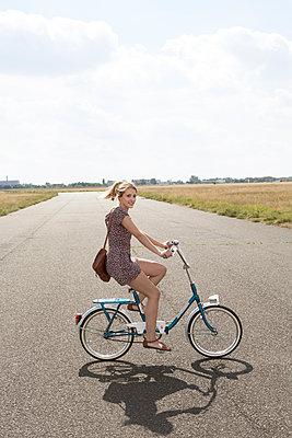 Folding bike - p294m1069510 by Paolo