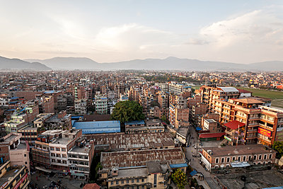 View Of Kathmandu City From Bhimsen Tower In Nepal - p343m1223803 by Mat Rick Photography