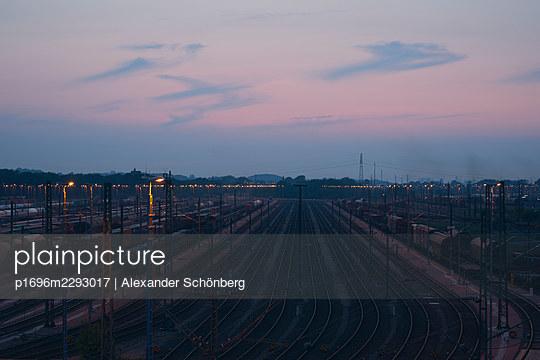 Goods train station - p1696m2293017 by Alexander Schönberg