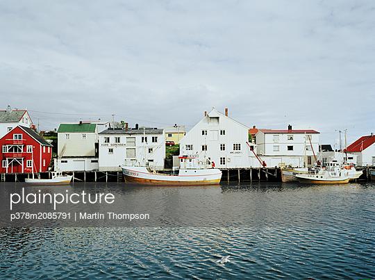 Henningsvaer Harbour - p378m2085791 by Martin Thompson