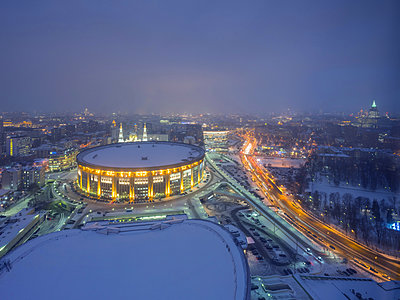 Olympic Stadium complex in Moscow - p390m2122357 by Frank Herfort