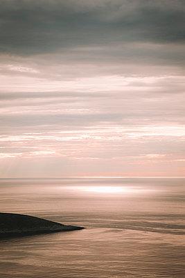 Midnight sun at North Cape - p382m2254516 by Anna Matzen