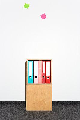 Farbe ins Büro - p454m1332623 von Lubitz + Dorner
