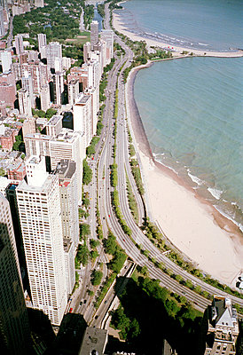 aerial view of Chicago - p3880199 by Jim Green