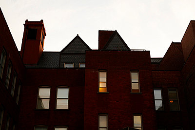 Red Brick Building  - p694m663685 by Maria K