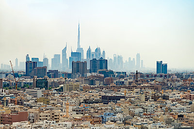 Dubai cityscape, United Arab Emirates - p312m1139783 by Karl Forsberg