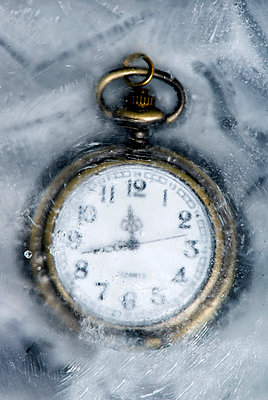 Eingefrorene Zeit - p451m1031020 von Anja Weber-Decker