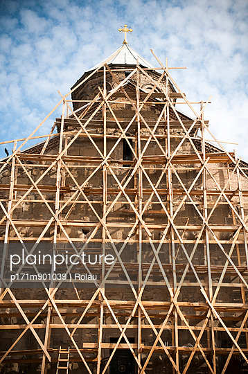 Wooden scaffolding - p171m901039 by Rolau