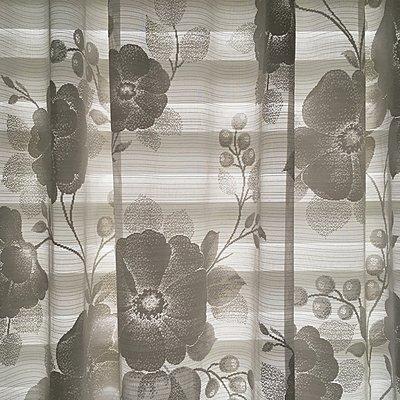 Gardine mit Blumenmuster - p1401m2229890 von Jens Goldbeck