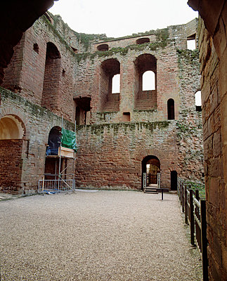 Kenilworth Castle. Interior view of the Keep. - p8551757 by Nigel Corrie