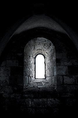 Church window - p445m1020483 by Marie Docher