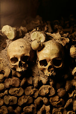 Catacomb - p1028m912275 by Jean Marmeisse