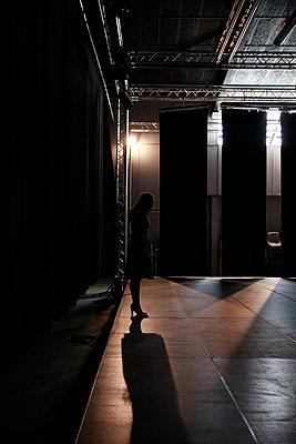On stage - p1105m2082577 by Virginie Plauchut