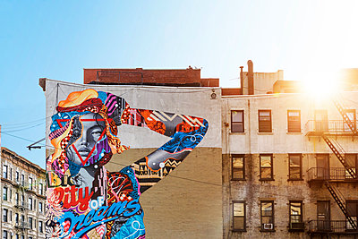 Street Art NYC - p1280m1161933 by Dave Wall