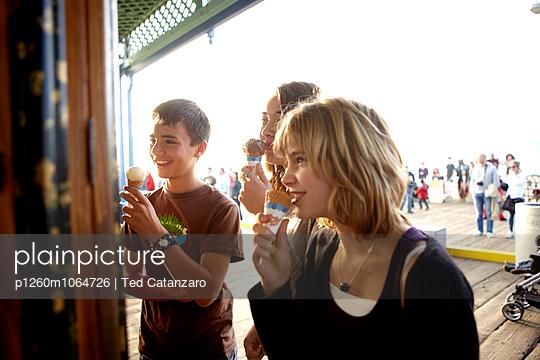 Ice Cream Pier - p1260m1064726 by Ted Catanzaro
