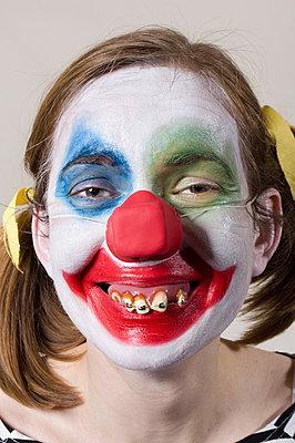 Clownin - p3580447 von Frank Muckenheim