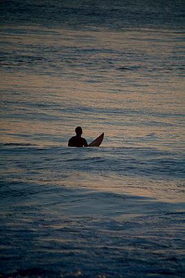 Surfer - p1028m1071147 by Jean Marmeisse