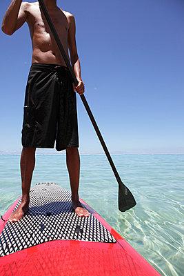 Stand Up Paddle - p0453096 von Jasmin Sander