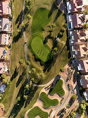 Golf course - p356m822685 by Stephan Zirwes