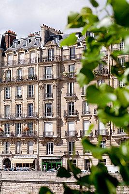 Facade in Paris - p940m793177 by Bénédite Topuz