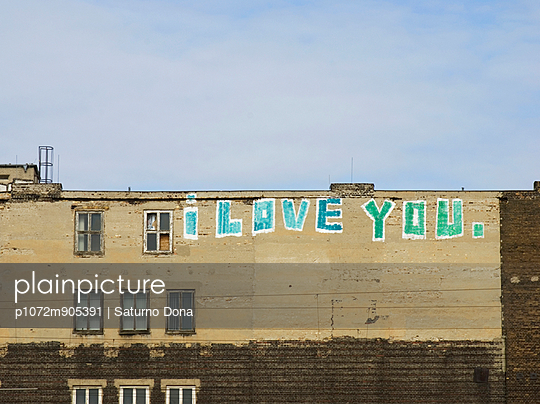 love message on a wall in Berlin, germany